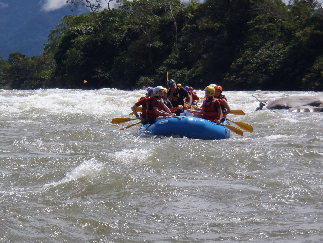 Rafting in Ecuador | Ecuador & Galapagos Summer Service Program for Teens