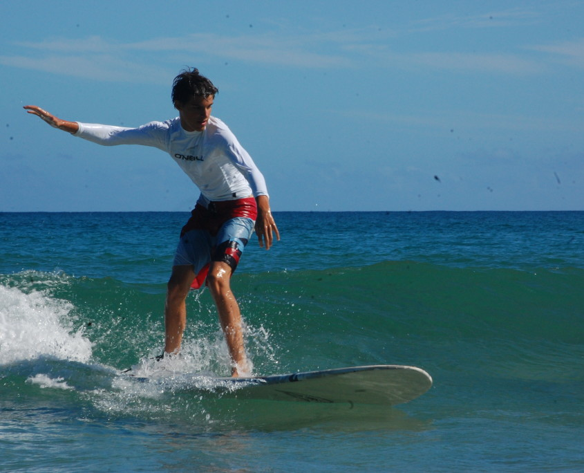 Surfing in Hawaii | Hawaii Summer Service Program for Teens