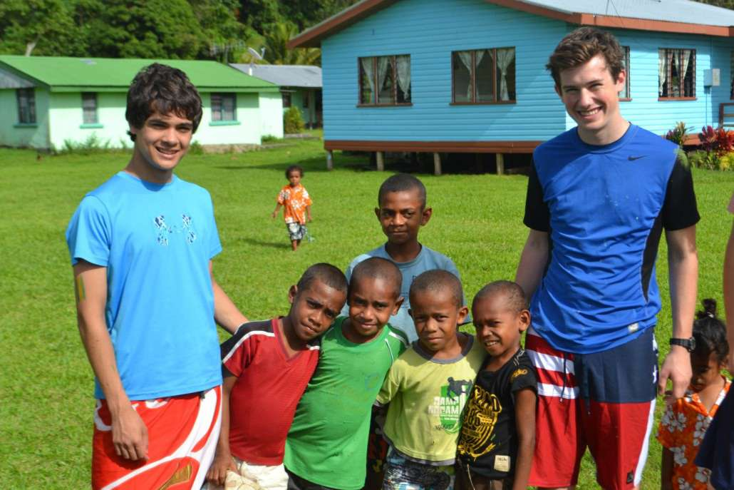 Interact with Fijian Children on ARCC's Australia & Fiji summer service program