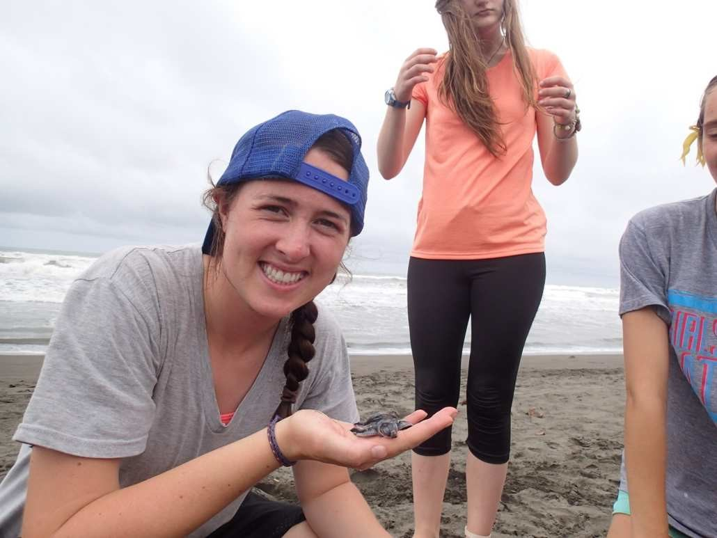 Sea Turtle Conservation on ARCC's Costa Rica summer program for teens