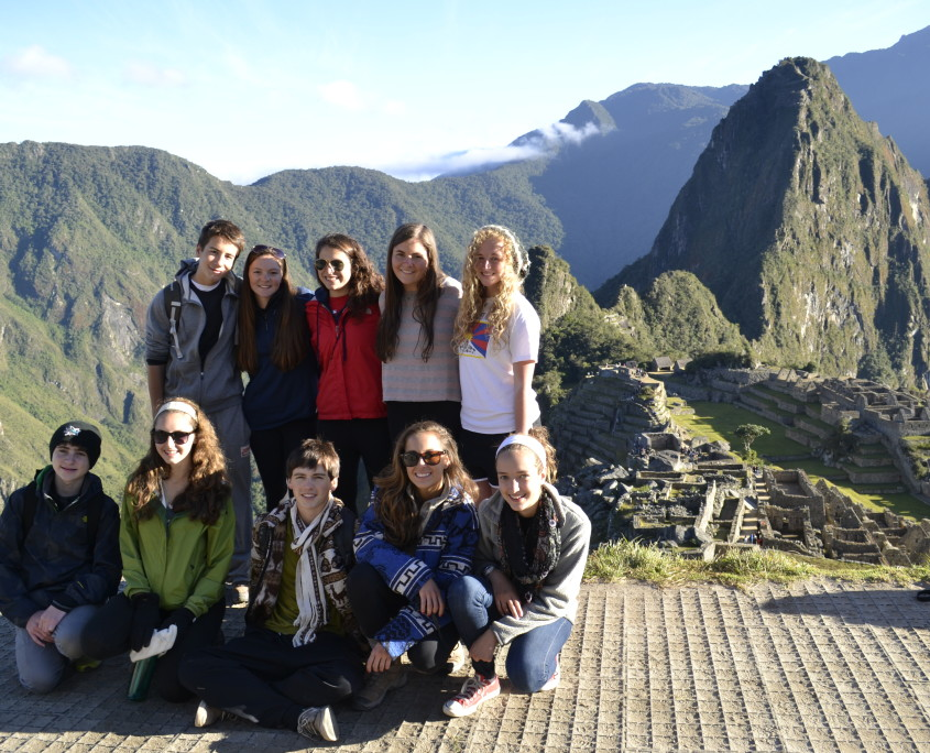 Group in front of Machu Picchu | Peru Summer Service Program for High School Students