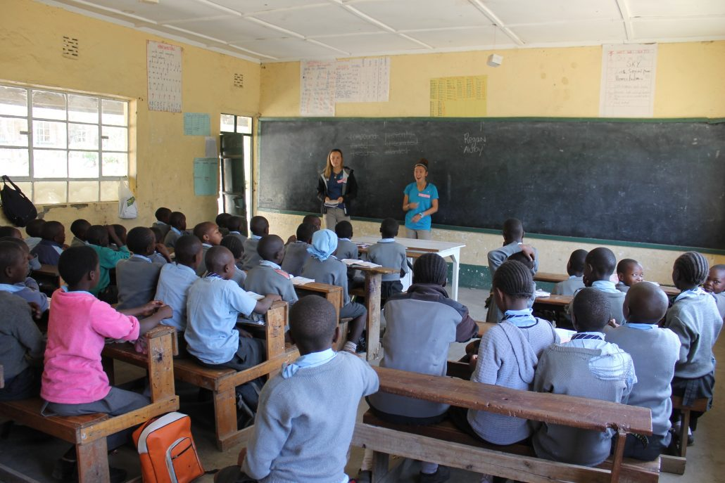 Teaching a Group of Kenyan Students