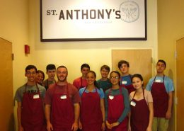 California Service - Volunteers at St Anthonys