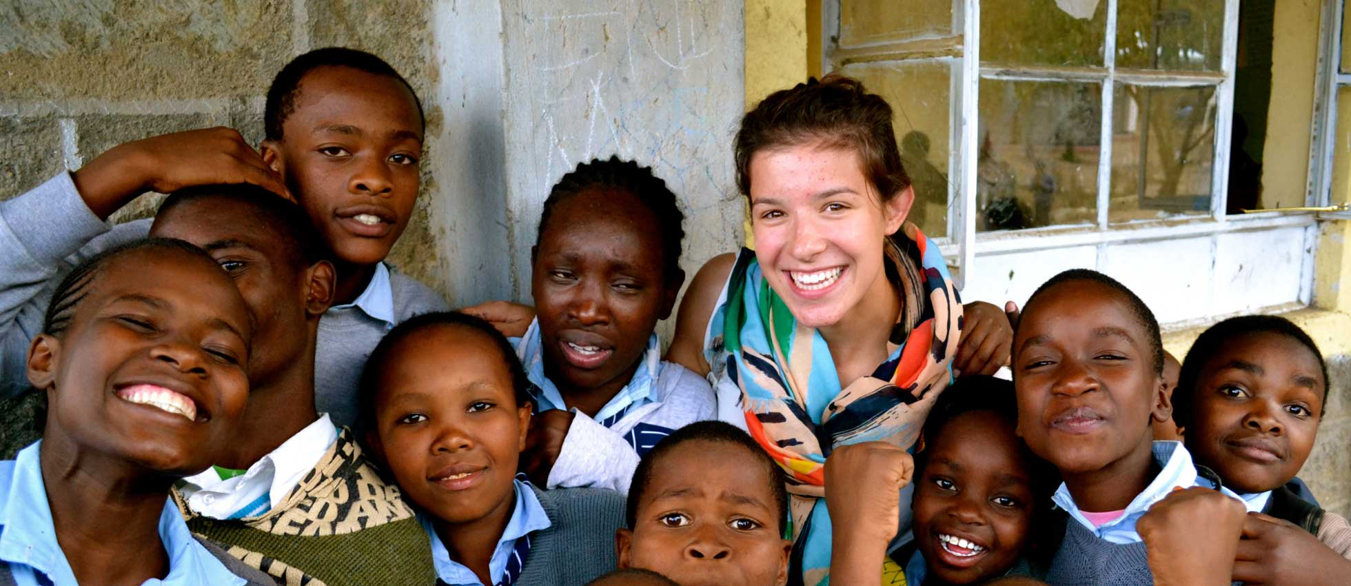 ARCC Gap Year - Students in Africa