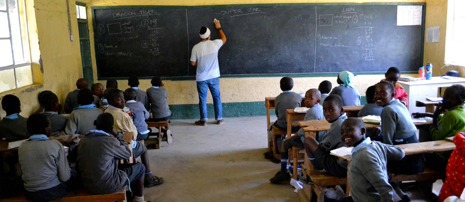 ARCC Gap Year - Teaching in Africa