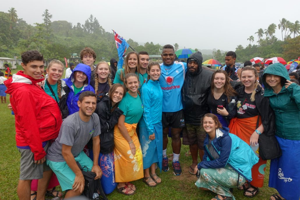 Meeting The Fijian National Rugby Team