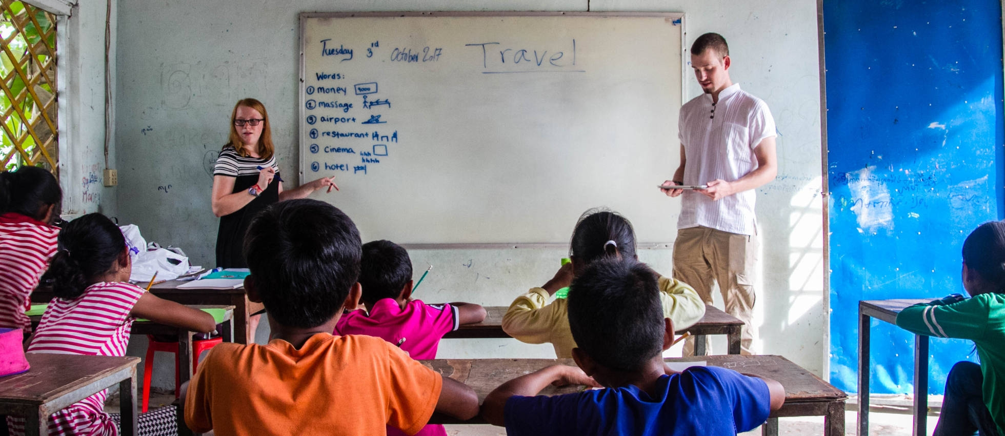 Teaching English in a Asian Classroom