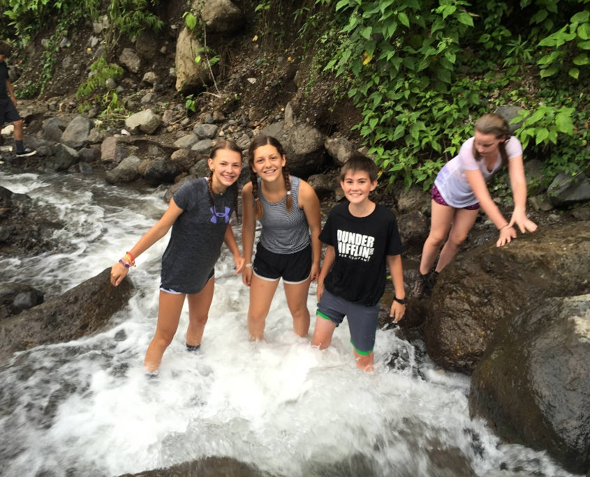 Exploring Waterfalls in Costa Rica with ARCC