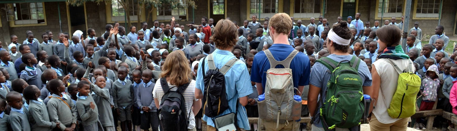 ARCC Gap Year Students in Africa