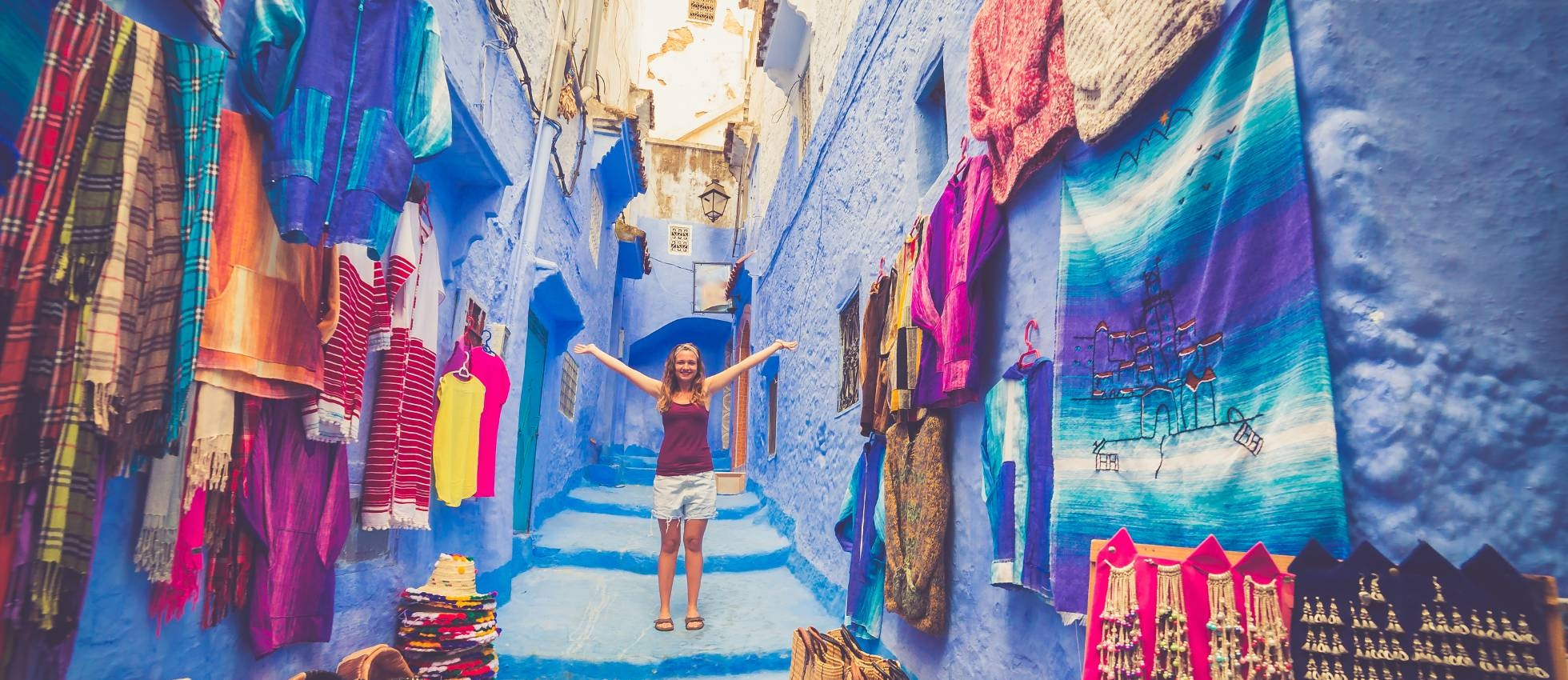 The Streets of Chefchaouen